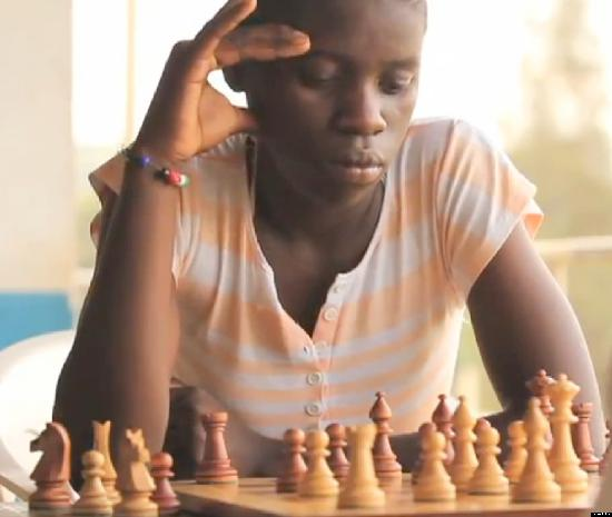 phiona mutesi - chess board