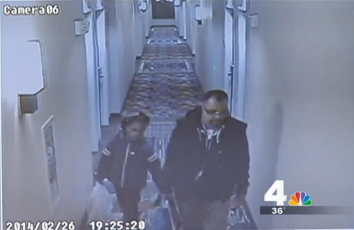 Footage from a surveillance camera inside a Washington, D.C., hotel shows a little girl believed to be 8-year-old Relisha Tenau Rudd with her alleged abductor, Kahlil Tatum