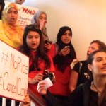 Rutgers Students Stage Sit-In to Protest Condoleezza Rice Speech