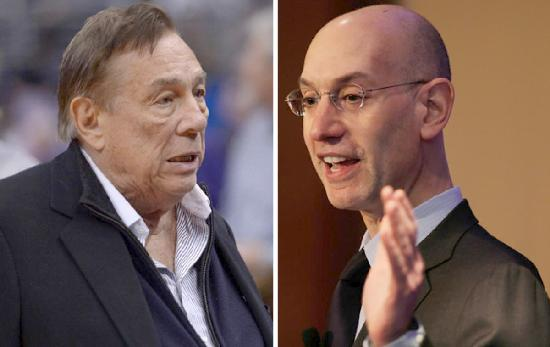 donald sterling & adam silver