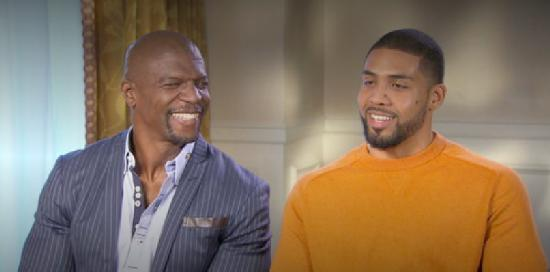 terry crews and arian foster