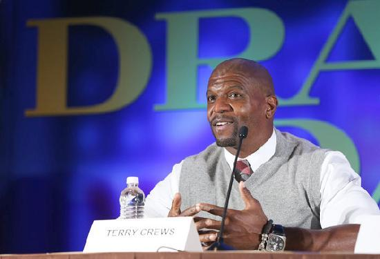 terry crews - draft day press conference