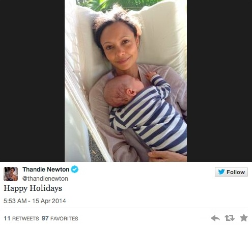 thandie newton baby