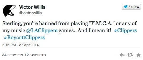 victor ymca tweet