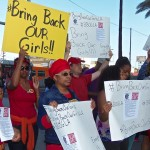 Los Angeles Holds #BringBackOurGirls Rally