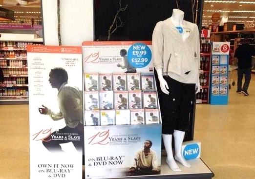 12 years a slave display