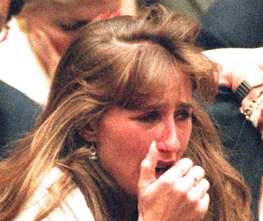 Kim Goldman, the sister of murder victim Ron Goldm