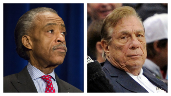 Al Sharpton and Donald Sterling
