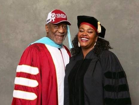 Bill Cosby and Jill Scott