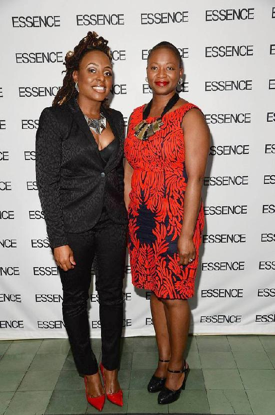 ESSENCE May issue cover star Ledisi and ESSENCE Editor-in-Chief Vanessa K. Bush