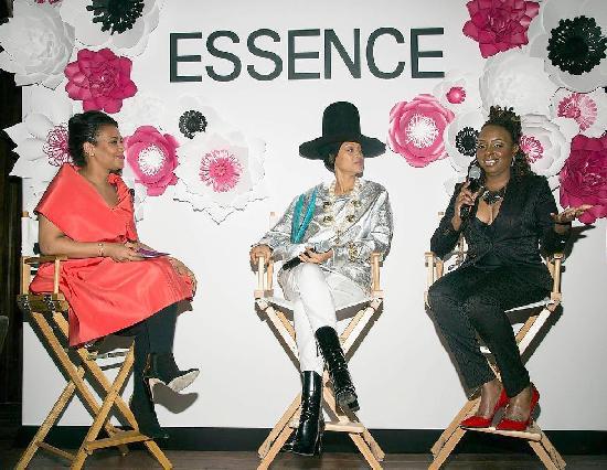 ESSENCE Beauty and Style Director Pamela Edwards-Christiani, ESSENCE May cover stars Erykah Badu and Ledisi