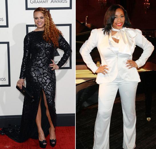 Faith Evans and Nicci Gilbert, R&B Divas