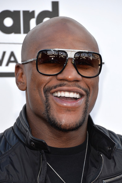 Professional boxer Floyd Mayweather Jr. attends the 2014 Billboard Music Awards at the MGM Grand Garden Arena on May 18, 2014 in Las Vegas, Nevada