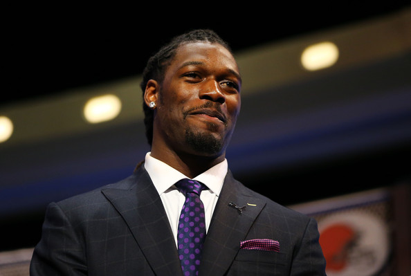 Jadeveon Clowney of the South Carolina Gamecocks is introduced during the first round of the 2014 NFL Draft at Radio City Music Hall on May 8, 2014 in New York City