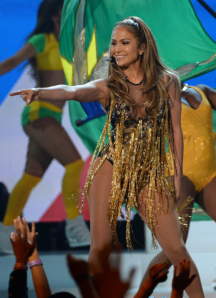 Singer/actress Jennifer Lopez performs onstage during the 2014 Billboard Music Awards at the MGM Grand Garden Arena on May 18, 2014 in Las Vegas, Nevada
