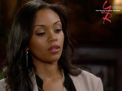 "Mishael Morgan plays Hilary Curtis on ""The Young & The Restless"""