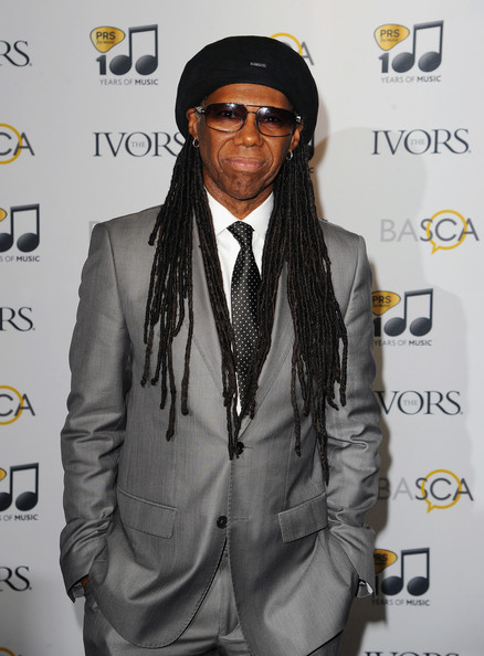 Nile Rodgers attends the Ivor Novello Awards at The Grosvenor House Hotel on May 22, 2014 in London, England
