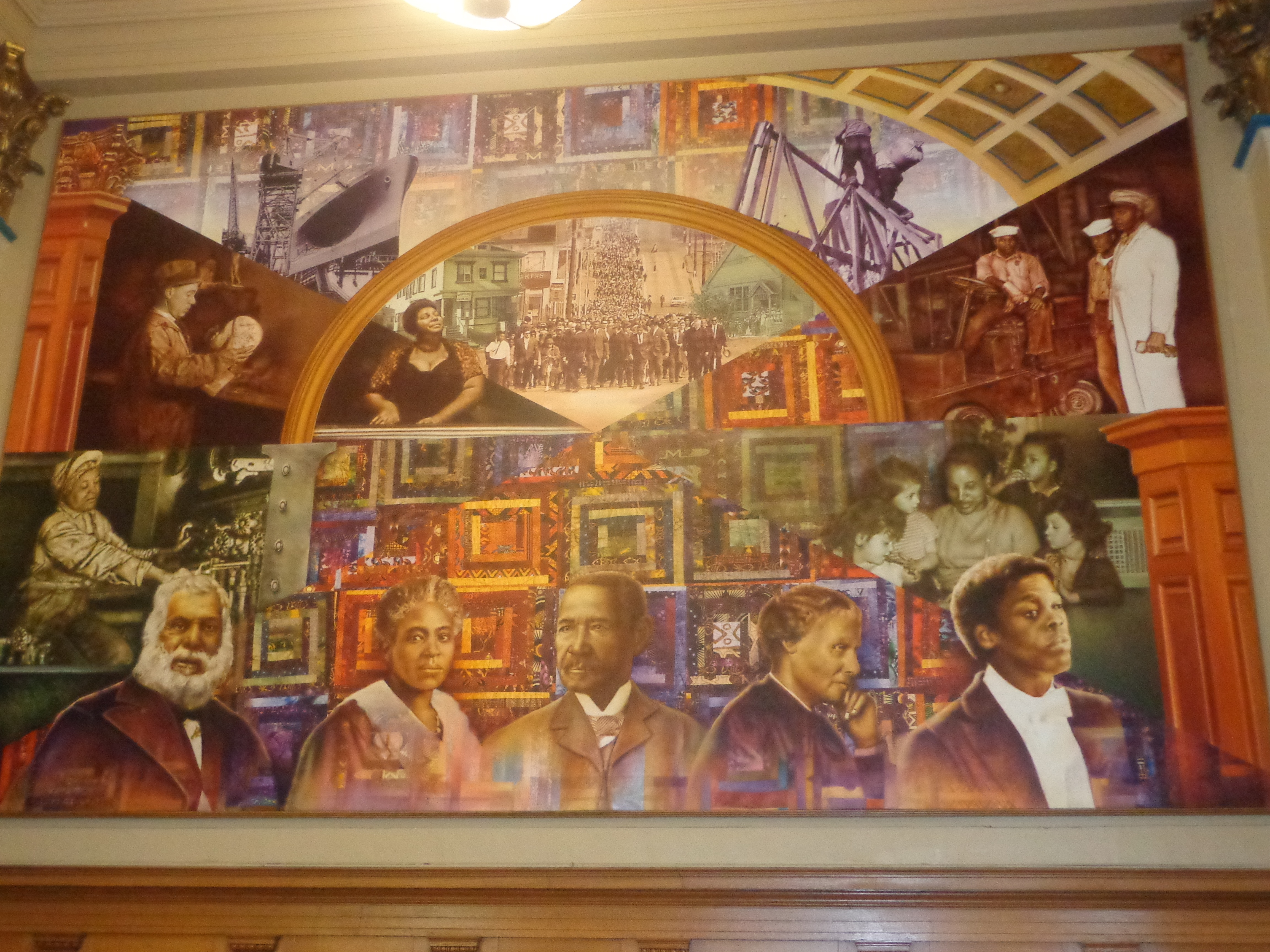 Oakland beckons with its charm and diversity eurweb for African american mural