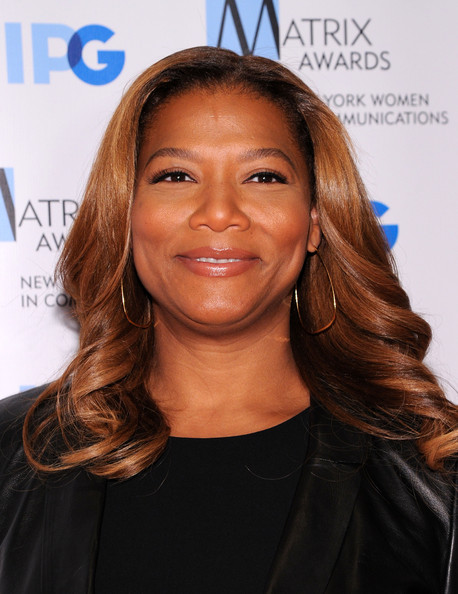 TV personality Queen Latifah attends the 2014 Matrix Awards at The Waldorf=Astoria on April 28, 2014 in New York City