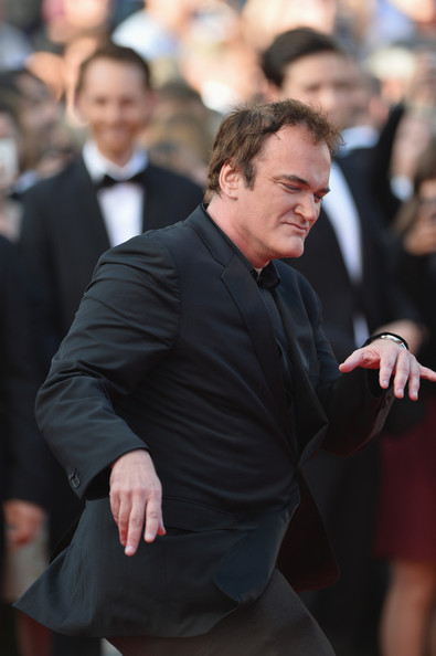 """Quentin Tarantino attends the """"Clouds Of Sils Maria"""" premiere during the 67th Annual Cannes Film Festival on May 23, 2014 in Cannes, France."""