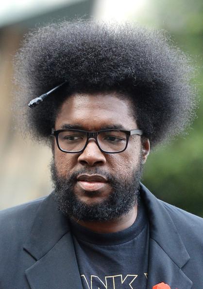Drummer ?uestlove (questlove) of The Roots is 44 today