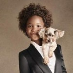 Child Actress Quvenzhane Wallis Becomes Face of Armani Junior