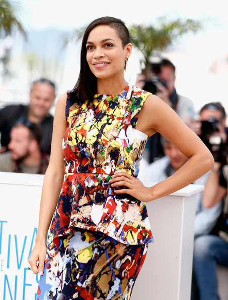 Actress Rosario Dawson attends the 'Captives' photocall during the 67th Annual Cannes Film Festival on May 16, 2014 in Cannes, France