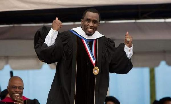 Sean Diddy Combs Commencement Speech
