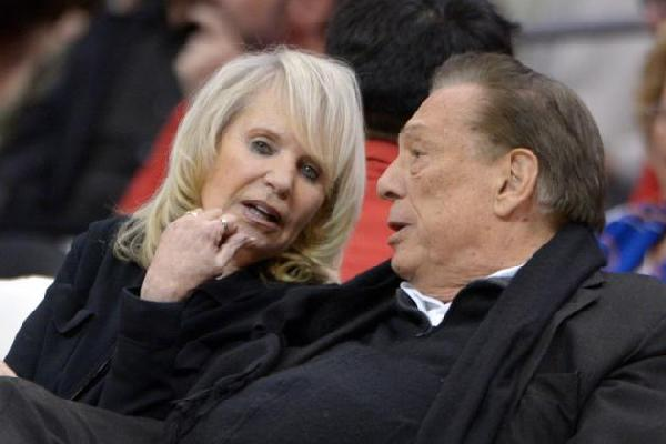 Shelly and Donald Sterling: Thick as thieves
