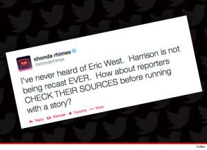 Shonda Rhimes Tweet