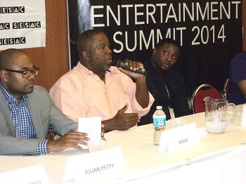 Kashif on the R&B panel