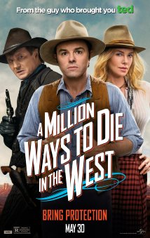 a million ways to die in the west (poster)