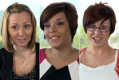 (L-R) Amanda Berry, Gina DeJesus and Michelle Knight