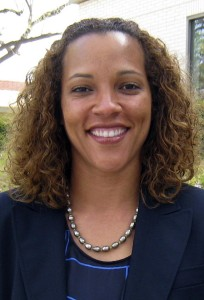 This undated image provided by Biola University shows April Jace, who, according to police, was shot multiple times by her husband, Michael Jace, after she returned home with their children, May 19, 2014, in Los Angeles.