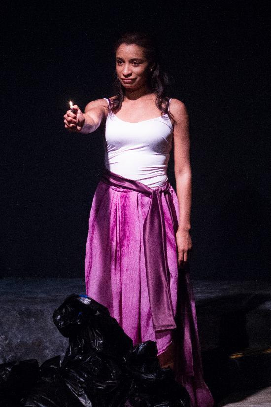 Tammi Mac stars in  Bag Lady