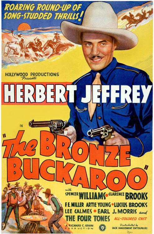 bronze buckaroo poster