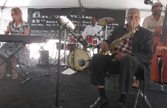 clarence johnston quartet
