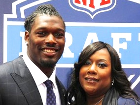 clowney and mom