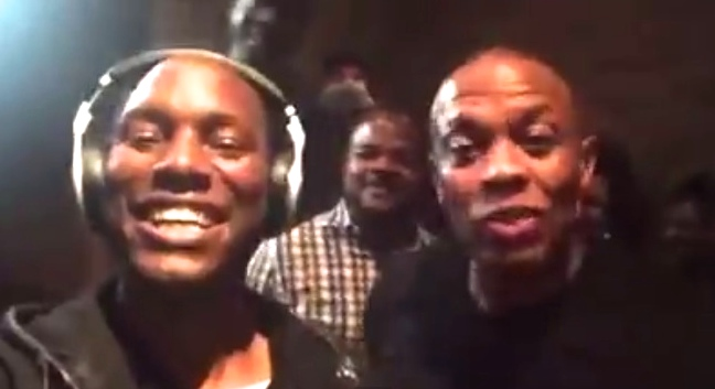 dre and tyrese celebrate
