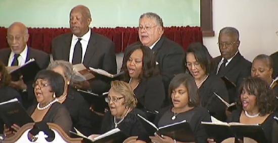 friendship baptist choir