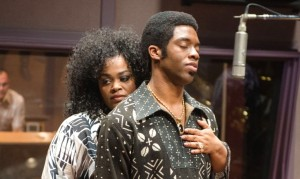 Jill Scott and Chadwick Boseman in 'Get On Up'