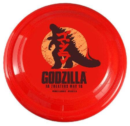godzilla on frisbee