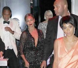 jay beyonce solang  (exit elevator)