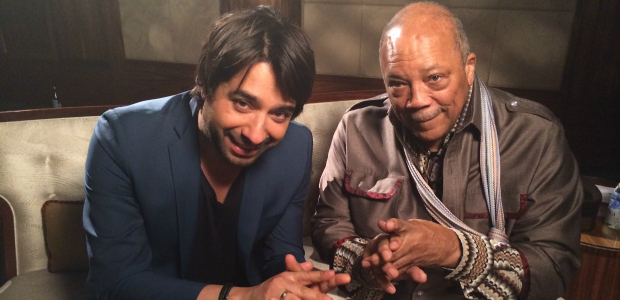 Jian and Quincy Jones