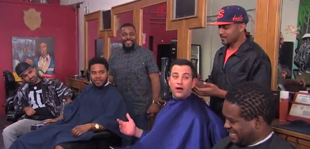 jimmy kimmel barbershop