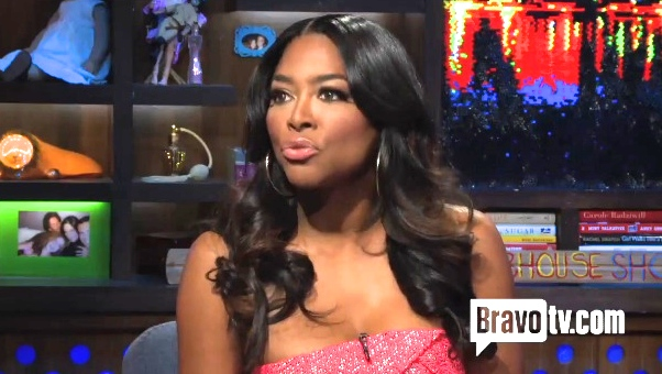 kenya moore watch what happens live