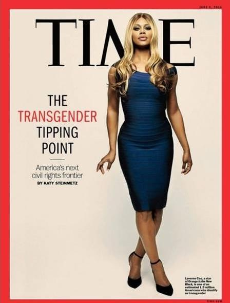 laverne cox - time mag cover
