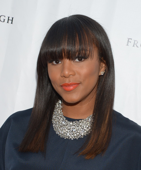 """Singer LeToya Luckett attends the screening of """"From The Rough"""" at ArcLight Cinemas on April 23, 2014 in Hollywood, California"""
