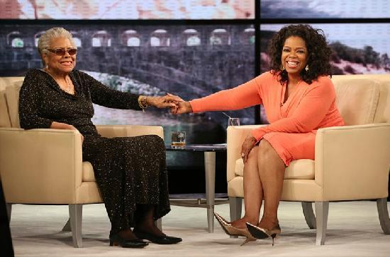maya angelou & oprah