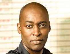 THE SHIELD: Michael Jace as Officer Julien Lowe. CR: Prashant Gupta / FX